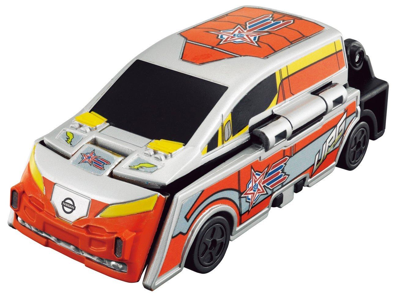 X射線~C892706~鹹蛋超人變身汽車玩具車 ,玩具車  迴力車  模型  玩具