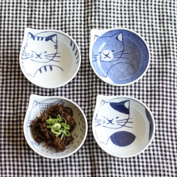 |日本空運|波佐見燒  neco貓咪小缽 日本製 ねこ ネコ かわいい|4款|現貨|代購熱門商品 1