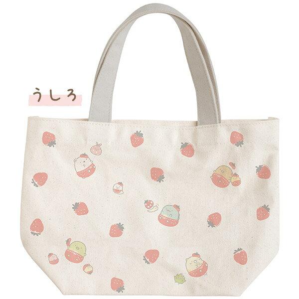 【蘋果小鹿】角落生物-草莓系列  便當提袋 2