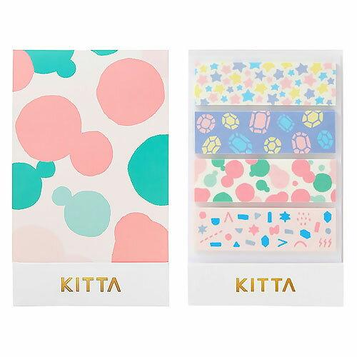 【日本KITTA】隨身攜帶和紙膠帶KIT011夢境款本