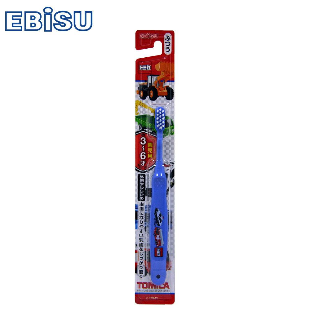 【EBiSU】TOMICA 3-6歲兒童牙刷 B-701