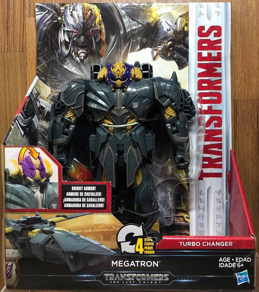 ☆勳寶玩具舖【特惠商品】變形金剛 Transformers 電影5 重裝騎士 快速變形戰將 密卡登 Megatron