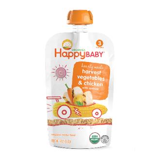 【HappyFamily】6入 佑爾康金貝親有機嬰兒副食品S3(雞肉燉) 113g*ˊ6
