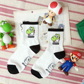PGS7 日本卡通系列商品 - 正韓瑪莉歐 Mario 耀西 Yoshi 長襪 襪子 現+預 超級瑪莉 任天堂