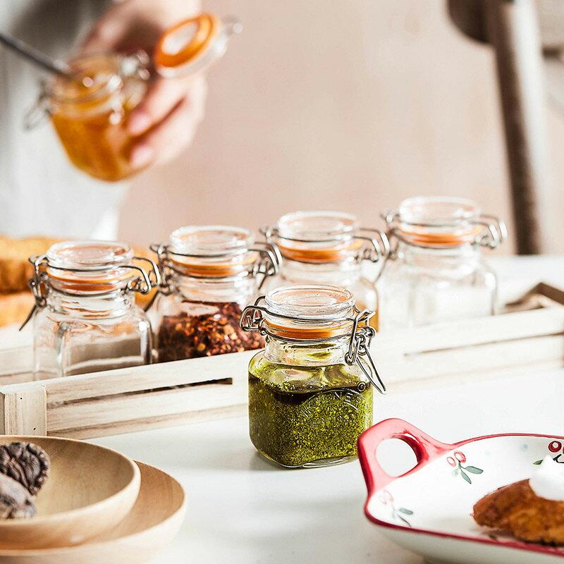 食品級果醬瓶蜂蜜罐儲存罐迷你泡菜罐子小號