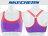 Shoestw【GWPBR677PUR】SKECHES 運動內衣 彈性 韻律背心 調整肩帶 紫橘 透氣 0