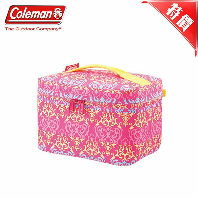 【露營趣】特價款 美國 Coleman CM-22231 4L 紅葉圖騰保冷袋 保溫袋 母乳袋 便當袋 軟式冰桶 軟式冰箱