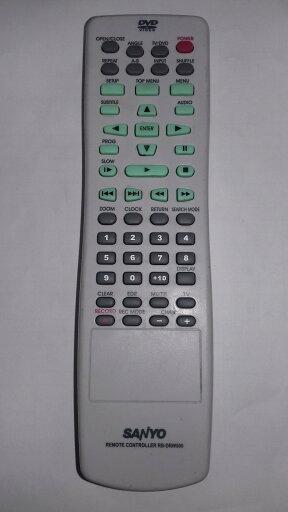Original Sanyo RB-DRW500 / RBDRW500 TV / DVD Remote Control