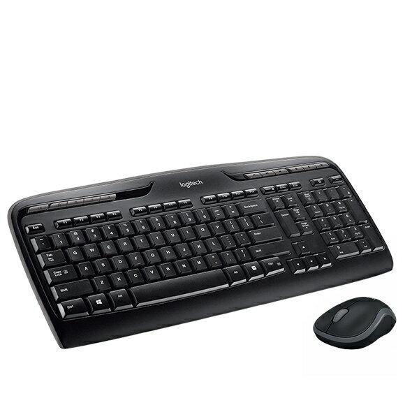Logitech 羅技 MK330R 無線鍵鼠 鍵盤滑鼠組(繁體中文版)