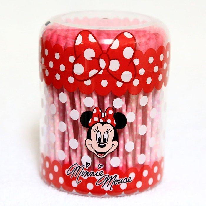 【真愛日本】15090900038 樂園限定棉花棒罐-米妮 預購 迪士尼帶回 棉花棒 清潔用品