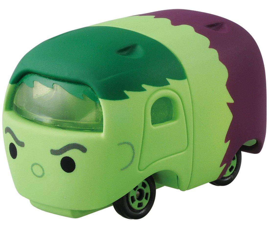 X射線【C877400】Tomica TsumTsum 漫威 綠巨人浩克車 ,玩具車/ 迴力車/模型/玩具