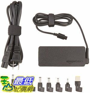 [106美國直購] AmazonBasics Universal 65 Watt Ultrabook Charger (AC Power Adapter)