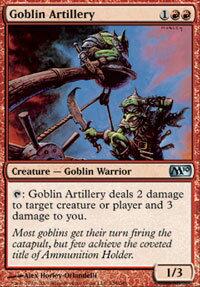 【Playwoods】 MTG 魔法風雲會 M10核心No. 138 Goblin Artillery 鬼怪大砲 UC卡(白卡非普紅生物)
