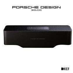 ★Porsche Design聯名款★ 英國音響 KEF 聯名款 GRAVITY ONE 【純黑色】無線藍牙雙聲道喇叭