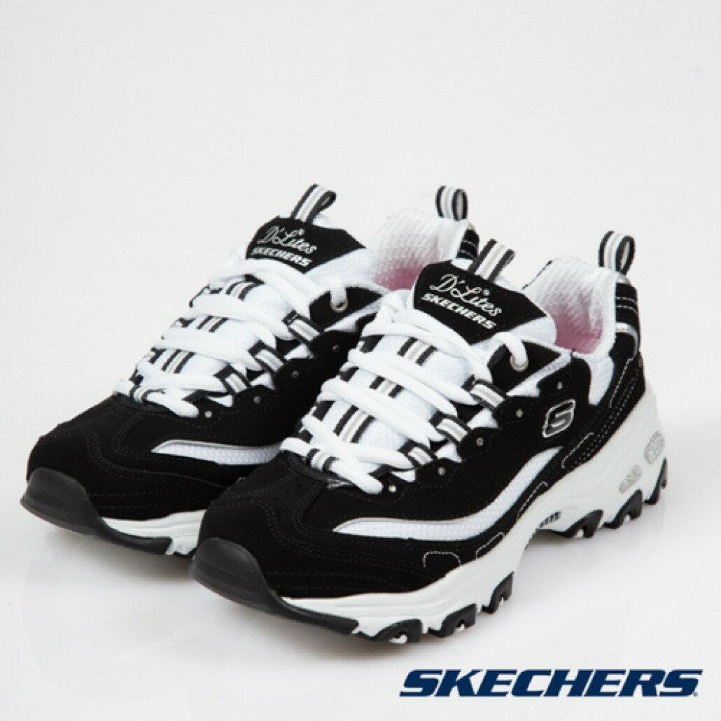 [ALPHA] SKECHERS D-LITES 11930BKW 女鞋 DAD SHOE 老爹鞋