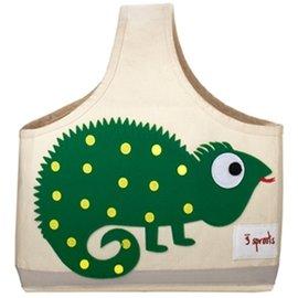 【淘氣寶寶】加拿大 3 Sprouts 手提收納包-小蜥蜴【收納方便,攜帶便利】【 貨● 】