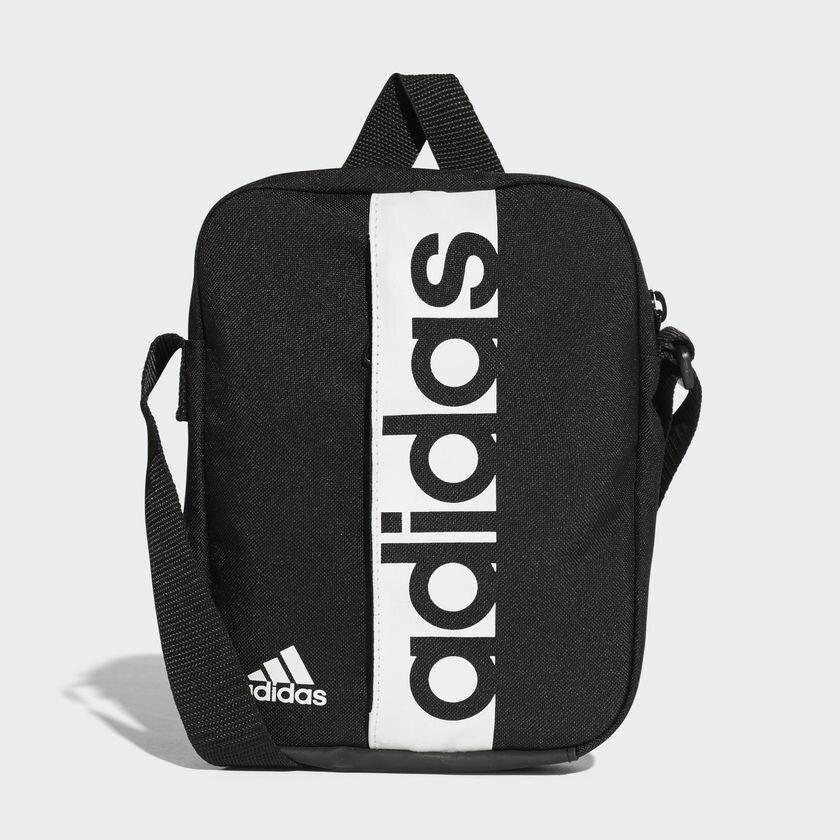 ADIDAS LINEAR PERFORMANCE ORGANIZER側背包 肩背 休閒 運動 黑【運動世界】S99975