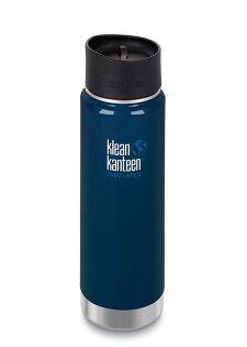 ├登山樂┤美國KleanKanteen新款寬口不銹鋼保溫瓶20oz592ml#K20VWPCC-DS深海藍
