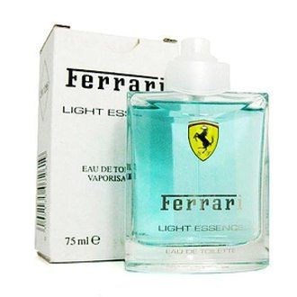 香水1986☆Ferrari Light Essential 法拉利氫元素男性淡香水 TESTER 75ml