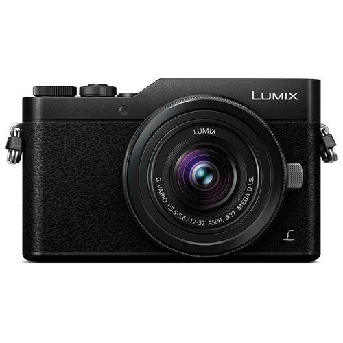 Panasonic Lumix DC-GX850 Mirrorless Micro Four Thirds Digital Camera with 12-32mm Lens - Black