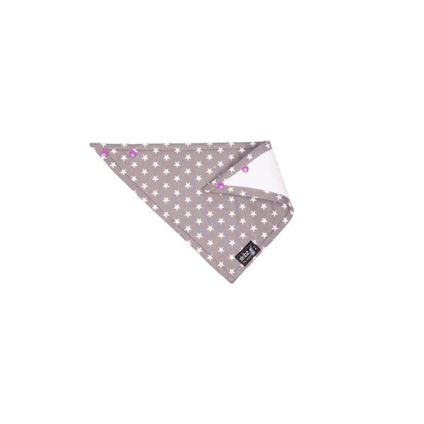 ★衛立兒生活館★英國 Skibz 時尚經典單面領巾-格雷星辰