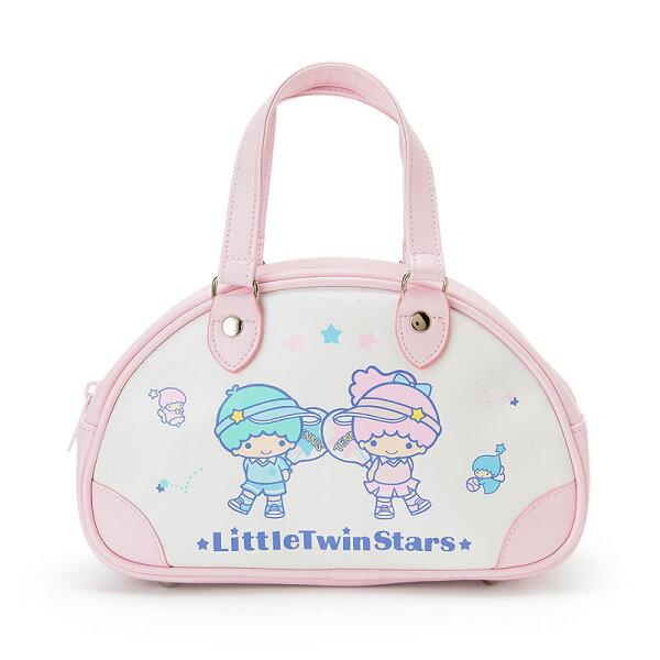 【真愛日本】4901610382844迷你復古手提包-TS網球ACQ雙子星kikilala零錢包化妝包收納包