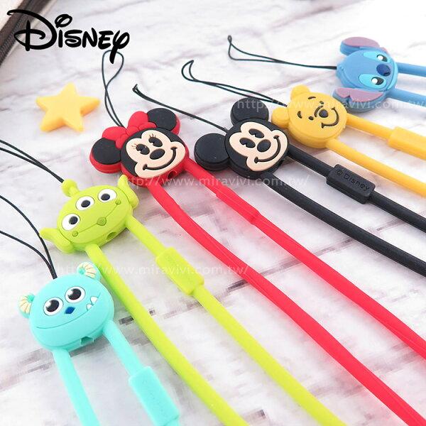 Miravivi:Disney迪士尼經典系列硅膠掛繩吊飾手腕帶