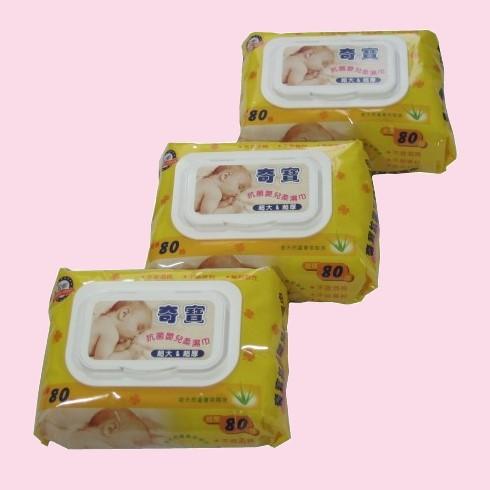 奇寶嬰兒柔濕巾(80抽)/3包 1113 好娃娃