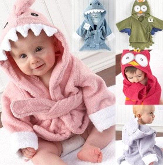 寶寶浴袍 動物造型實用浴袍 SS0172 好娃娃