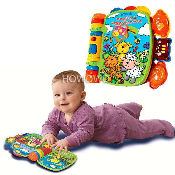 早教啟蒙有聲書 動物世界寶寶翻翻書 益智兒童玩具 275037 Vtech