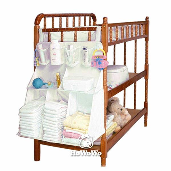 嬰兒床置物掛櫃 嬰兒床立體掛包 掛袋 置物袋 SS9161