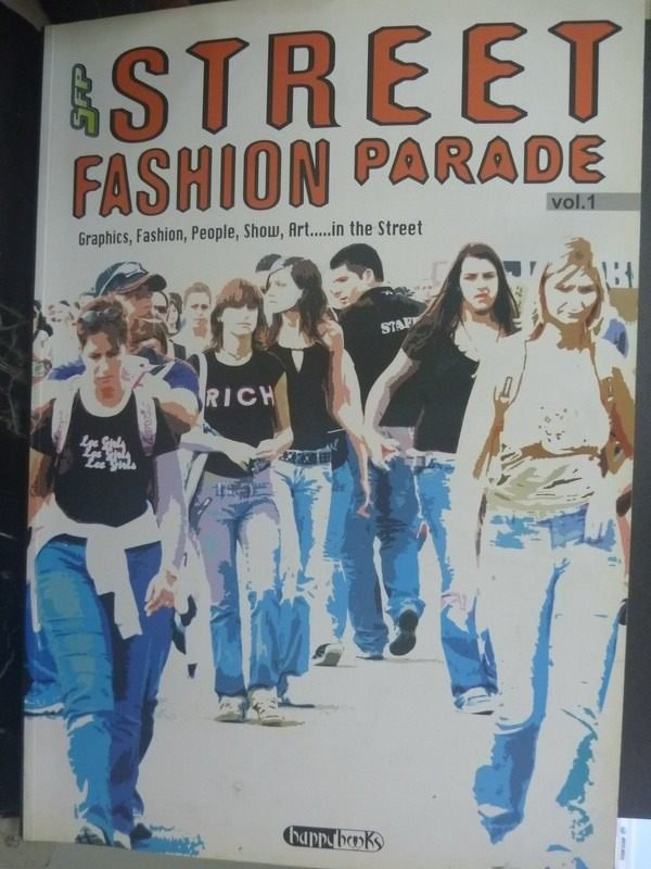 【書寶二手書T5/廣告_ZKK】Street fashion parade_Papazzoni