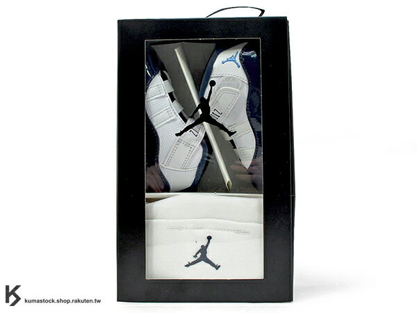 2017 一歲以下嬰兒專用 NIKE JORDAN 11 XI RETRO GP GIFT PACK WIN LIKE \
