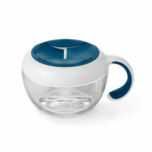 OXO tot  零食杯(含蓋)-海軍藍★愛兒麗婦幼用品★