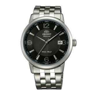 Orient 東方錶(FER2700BB)經典簡約機械腕錶/黑面41mm
