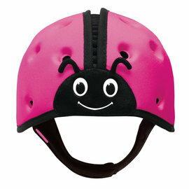 【淘氣寶寶】英國SafeheadBABY幼兒學步防撞安全帽-繽紛桃
