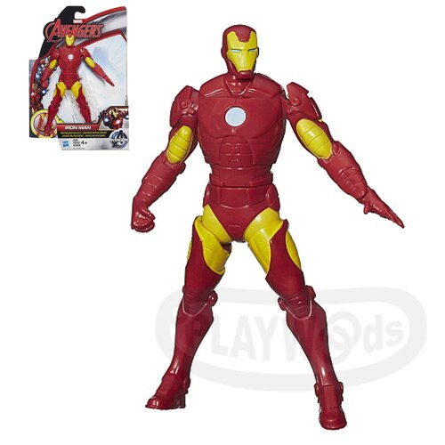 【Playwoods】[復仇者聯盟2:奧創紀元] 6吋漫畫版:鋼鐵人Iron Man(MARVEL/復仇者聯盟/漫畫版/Avengers/超級英雄)