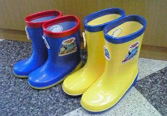 日本原裝/THOMAS湯瑪士小火車兒童雨鞋/零碼出清