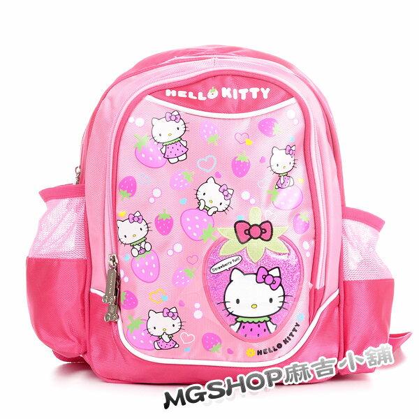 正版 Hello Kitty 凱蒂貓 幼稚園書包 後背包620938-草莓款/單售