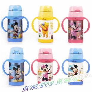 正版Disney 迪士尼 不鏽鋼保溫學習杯260ML(米妮/米奇維尼款5674)單售