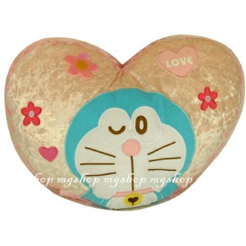 日本原裝 DORAEMON 哆啦A夢 小叮噹抱枕/靠枕(粉色)