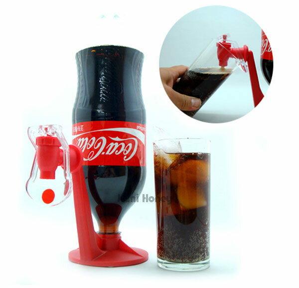 可樂汽水瓶倒置飲料架/便利開關飲料飲水器(女人我最大推薦)