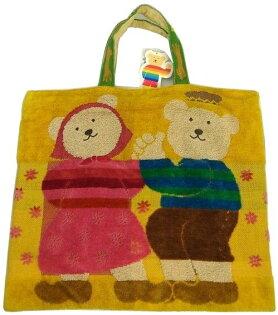 RAINBOWBEAR彩虹熊大提袋日本製夫妻款
