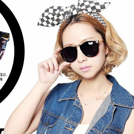日韓歐美配件造型 圓形墨鏡 太陽眼鏡 男女適用圓款-4色