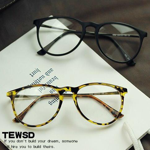 日韓歐美配件造型 平光眼鏡 眼鏡框 男女適用 文藝黑框眼鏡架-4色