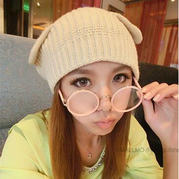 日韓歐美配件造型 平光眼鏡 眼鏡框 男女適用 眼鏡架 大圓框金屬金邊 -5色