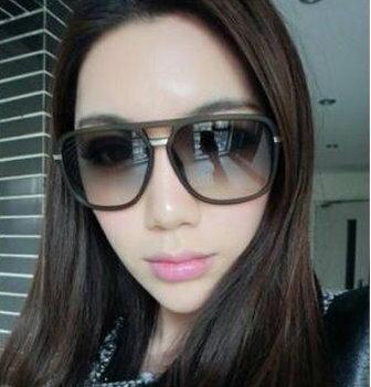 日韓歐美配件造型 大黑方框 太陽眼鏡 男女適用-4色