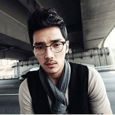 日韓歐美配件造型 平光眼鏡 眼鏡框 男女適用 眼鏡架-5色