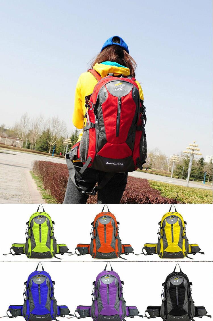 戶外登山包35L戶外旅遊包尼龍防水男女戶後背包-6色/單售