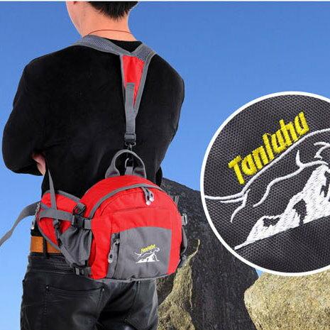 戶外運動多功能腰包男女通用休閒登山包便捷式女士後背包-5色/單售